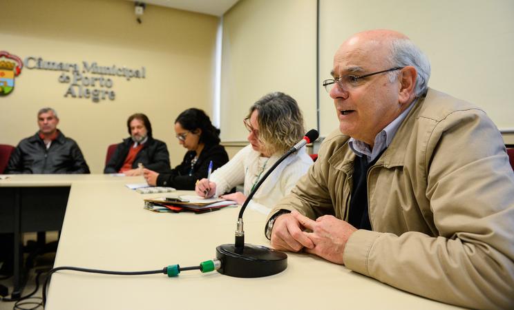 Comissão propõe debate ao tema autismo com autoridades no assunto. Na foto, o professor da Faculdade de Medicina da UFRGS, Rudimar Riesgo.