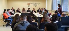 Primeira reunião da FRESEG debate segurança nos postos de saúde da Cruzeiro e do IAPI