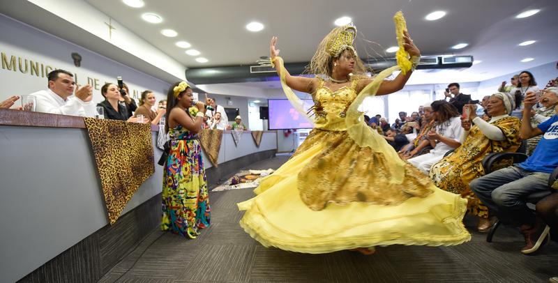 Instalação  da Frente Parlamentar dos Povos Tradicionais de Matriz Africana.