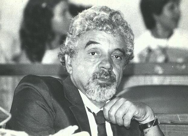 Paulo Sant'Ana enquanto vereador na Câmara Municipal de Porto Alegre.