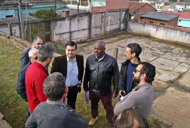 A reconstrução da quadra de esportes foi uma das prioridades solicitadas pelos moradores.