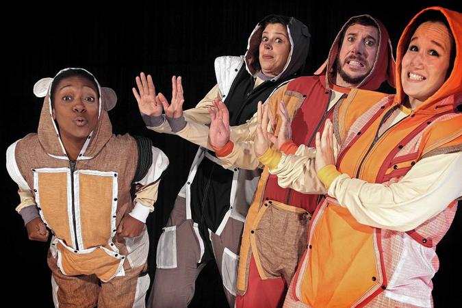 """Peça teatral """"É Proibido Miar"""", da MA Companhia - Teatro, Dança e Assemelhados."""