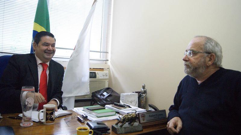 Paulo Roberto Mainere Soares trouxe demandas da comunidade da Zona Norte.
