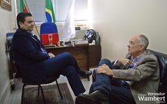 Luiz Postal é Comissário Geral Explorador do movimento Exploradores do Brasil.