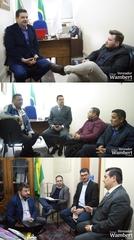 Projetos sociais, empreendedorismo e ações do Legislativo foram debatidas nas reuniões.