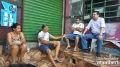 Conversa com moradores elencou as principais necessidades do bairro.