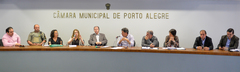 Reunião Conjunta CEDECONDH/CUTHAB sobre os condomínios e a segurança pública no extremo sul.