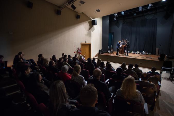 Show do Conjunto Bluegrass Porto-alegrense, na III Mostra de Artes Cênicas e Música do Teatro Glênio Peres.