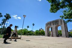 Parque Farroupilha, conhecido pelos porto-alegrenses como a Redenção