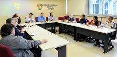 Reunião da Comissão de Saúde e Meio Ambiente sobre os 210 anos do Parque Farroupilha.