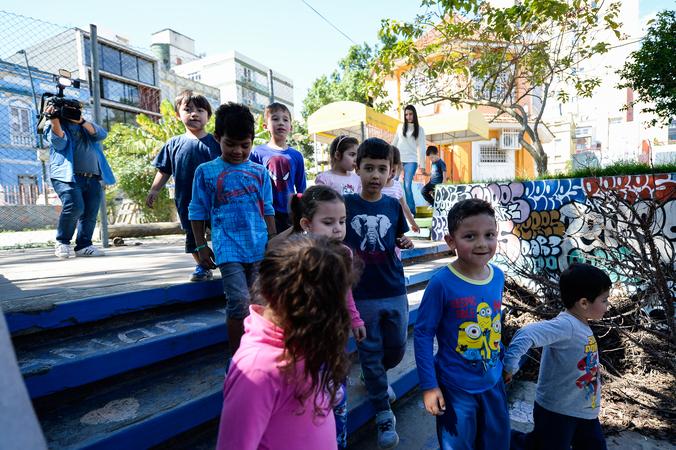 Visita à EMEI Jardim de Praça Pica-Pau Amarelo.