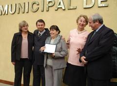 Diretora recebeu homenagem em nome da Ernerto Dornelles Foto: Tonico Alvares
