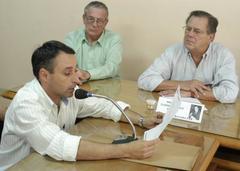 Morales anunciou verbas para hospital  Foto: Kaiser Konrad
