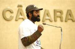 Ivan, da Associação dos Catadores,fez apelo à prefeitura Foto: Elson Sempé Pedroso