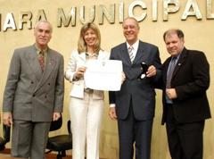 Desembargador recebeu homenagemda Câmara de Porto Alegre Foto: Caroline da Fé