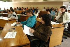 Estudantes atuaram como vereadores Foto: Tonico Alvares