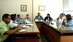 Cosmam discutiu transferência de servidores no posto da Vila Mapa Foto: Juliana Freitas