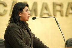 Diretora pediu apoio dos vereadores para ampliar oferta de ensino  Foto: Elson Sempé Pedroso