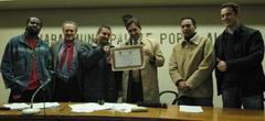 Grupo Da Guedes ganhou distinção daCâmara Municipal de Porto Alegre  Foto: Kaiser Konrad