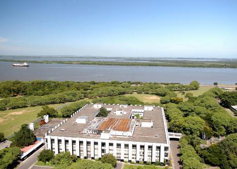 Vista aérea da CMPA Foto: Elson Sempé Pedroso
