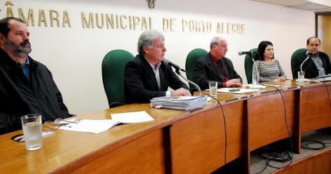 Frente Parlamentar discutiu falta de professores no Cete Foto: Ramon Nunes