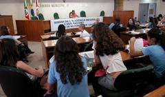 Atividade educativa reuniu 43 alunos Foto: Pedro Revillion
