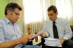 Brasinha (e) e Melo Foto: Elson Sempé Pedroso