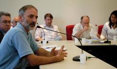 Roque pediu ajuda da Comissão contra os maus tratos da BM Foto: Pedro Revillion