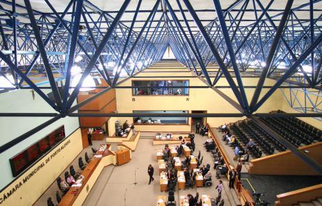 Plenário da Câmara Municipal de Porto Alegre Foto: Elson Sempé Pedroso