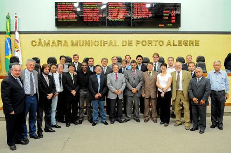 Reunião preparou instalação da XV Legislatura, na quinta-feira Foto: Elson Sempé Pedroso