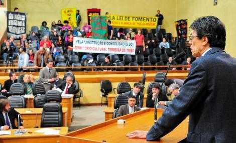 Emenda de Haroldo destina R$ 1,6 milhão para a cultura Foto: Elson Sempé Pedroso