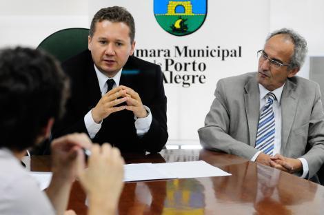 Presidente Mauro Zacher anunciou mudanças com aval da mesa diretora Foto: Leonardo Contursi