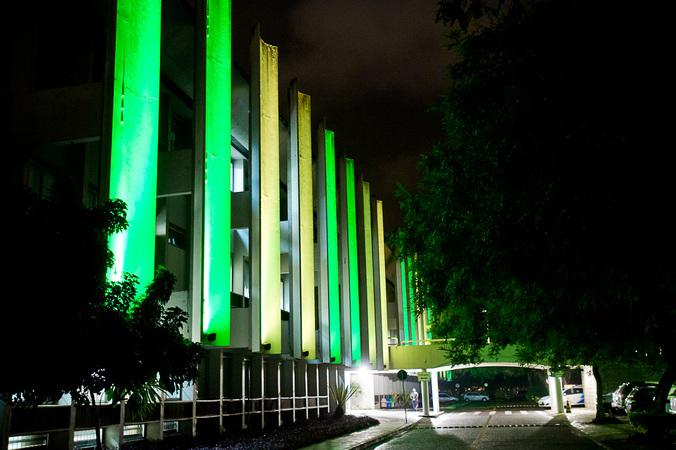 Fachada do Palácio Aloísio Filho, sede da Câmara Municipal