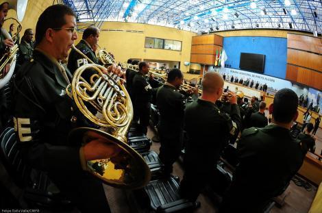 Solene reuniu militares e autoridades Foto: Felipe Dalla Valle