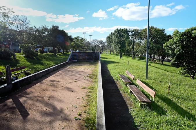 Visita à Praça Parque dos Nativos, na Vila Ipiranga