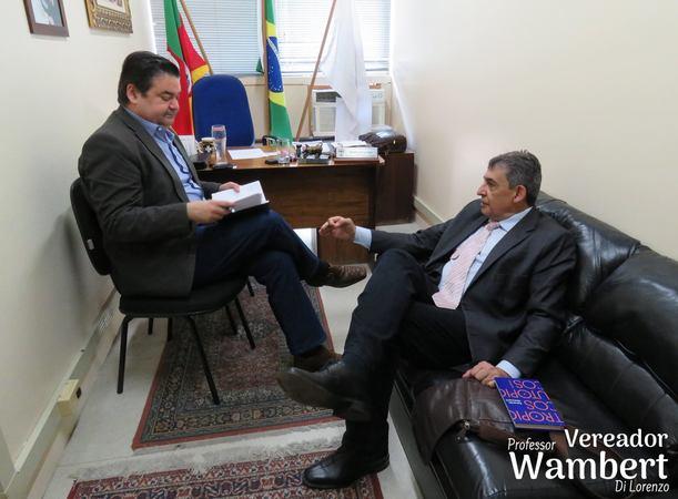 Melo apresentou propostas para o IPTU. Foto: Marco Pecker