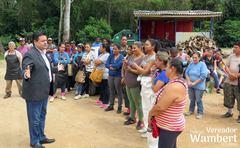 Cerca de 90 trabalhadores participaram da reunião e apresentaram suas principais necessidades para o vereador. Foto: Marco Pecker