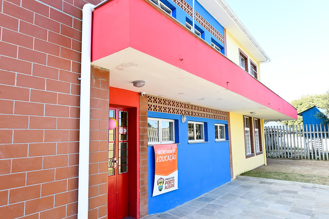 Inauguração da Escola Municipal de Educação Infantil Jardim Floresta, no Lami