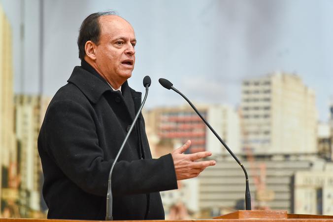 Período de Comunicações Temático: Cultura Doadora. Na foto: Vereador João Bosco Vaz