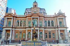 O Paço dos Açorianos, sede da Prefeitura de Porto Alegre