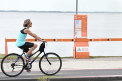 Ciclistas em menor velocidade teriam mais espaço nas ciclofaixas