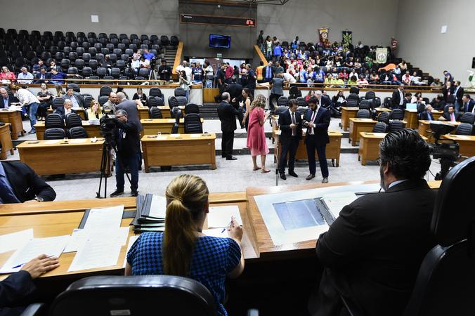 Reunião conjunta das Comissões Permanentes.