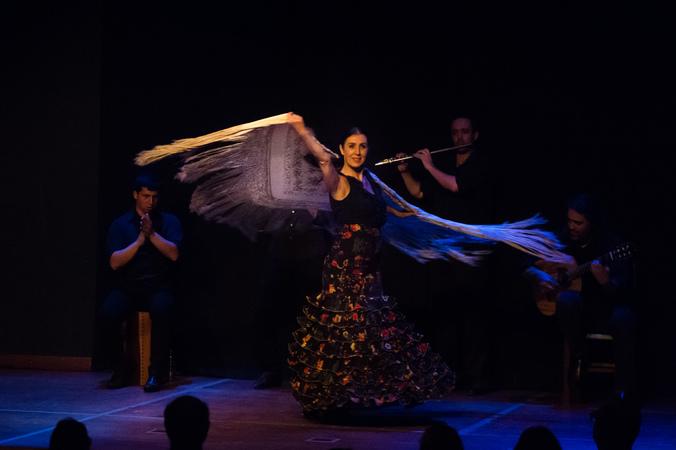 """Espetculo """"Simplesmente Flamenco"""", da Cia. de Dana Tablado Andaluz, na III Mostra de Artes Cnicas e Msica do Teatro Glnio Peres"""