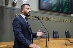 O vereador suplente Thiago Braga (PT), autor do projeto