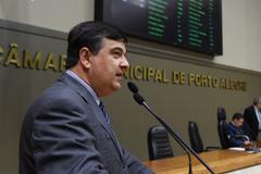 Vereador José Freitas na tribuna