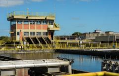 Estação de tratamento de esgotos Navegantes (Foto arquivo)