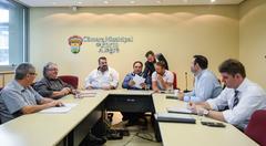 1ª Reunião Ordinária da CCJ.