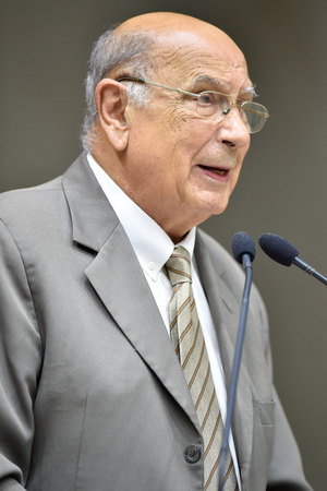 Retrato do vereador Reginaldo Pujol.