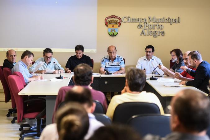 Reunião da Comissão Especial do Transporte Coletivo