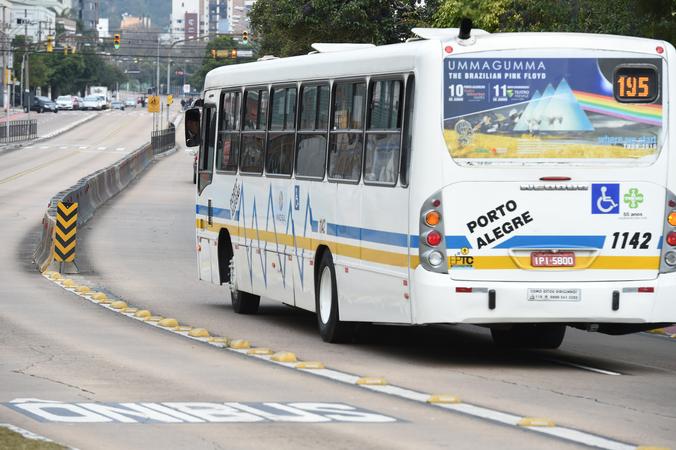 Corredor de ônibus da Av. Érico Verissimo